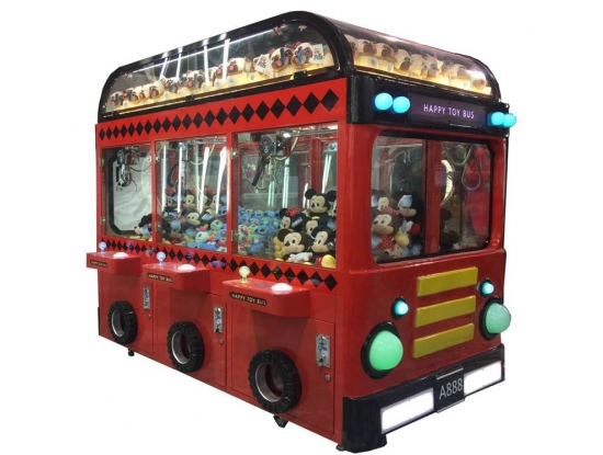 Happy Toy Bus 6player